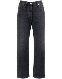 Goldsign Cropped Jeans - Zwart afbeelding