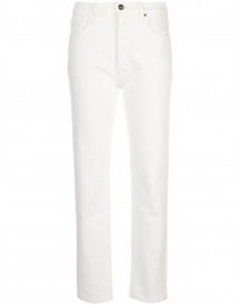 Goldsign Straight Jeans - Wit afbeelding