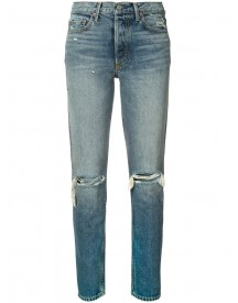 Grlfrnd - Distressed Skinny Jeans - Women - Cotton - 30 afbeelding