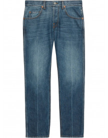 Gucci Cropped Jeans - Blauw afbeelding