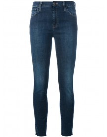 Gucci - Embroidered Skinny Jeans - Women - Cotton/polyester/spandex/elastane - 27 afbeelding