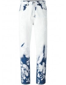 Gucci - Hand Bleached Relaxed-fit Jeans - Women - Cotton - 26 afbeelding
