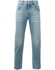Gucci - Loved Embroidered Jeans - Men - Cotton - 33 afbeelding