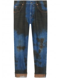 Gucci - Washed Denim Loose Tapered Pant - Men - Cotton - 31 afbeelding