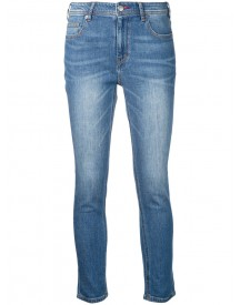 Guild Prime - Cropped Jeans - Women - Cotton/polyurethane - 34 afbeelding