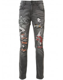 Haculla - Distressed Slim-fit Jeans - Men - Cotton/spandex/elastane - 36 afbeelding