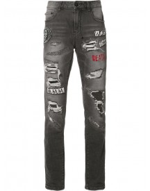 Haculla - Patches Ripped Jeans - Men - Cotton/polyester - 30 afbeelding