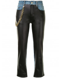 Hellessy Cropped Jeans - Zwart afbeelding