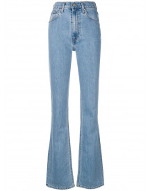 Helmut Lang Bootcut Jeans - Acc Light Stone Indigo afbeelding