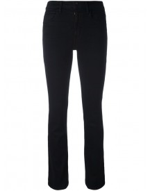 Helmut Lang - Cropped Skinny Flare Jeans - Women - Cotton/polyester/spandex/elastane - 30 afbeelding