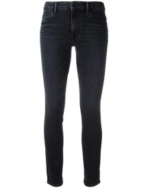 Helmut Lang - High-waisted Cropped Jeans - Women - Cotton/polyester/spandex/elastane - 31 afbeelding