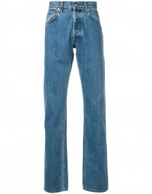 Helmut Lang Straight Jeans - Blauw afbeelding
