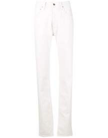 Helmut Lang Straight Jeans - Wit afbeelding