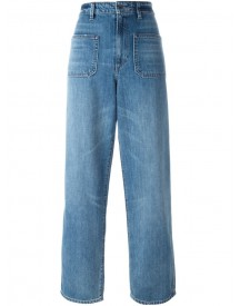 Helmut Lang - Wide Leg Jeans - Women - Cotton/polyester - 25 afbeelding