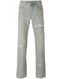 Htc Hollywood Trading Company - Distressed Straight Cut Jeans - Men - Cotton - 31 afbeelding