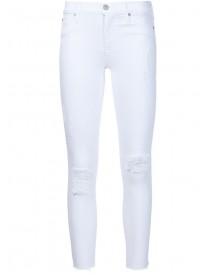 Hudson - Cropped Skinny Jeans - Women - Cotton - 27 afbeelding
