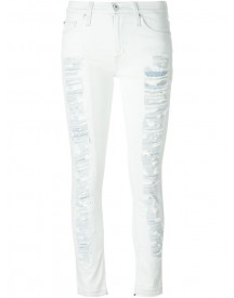 Hudson - Destroyed Bleached Jeans - Women - Cotton/polyester/spandex/elastane - 29 afbeelding