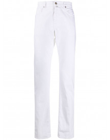 Incotex Slim-fit Jeans - Wit afbeelding