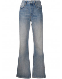 Isabel Marant Étoile Flared Jeans - Blauw afbeelding