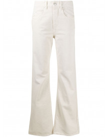 Isabel Marant Étoile Flared Jeans - Nude afbeelding