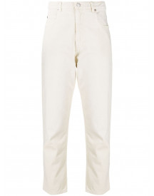 Isabel Marant Étoile Cropped Jeans - Nude afbeelding