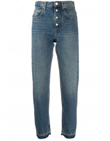 Isabel Marant Étoile Straight Jeans - Blauw afbeelding