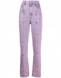 Isabel Marant Étoile Straight Jeans - Roze afbeelding