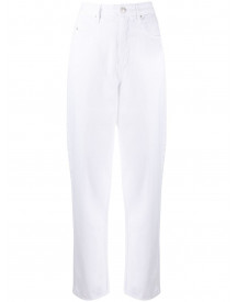 Isabel Marant Étoile Straight Jeans - Wit afbeelding