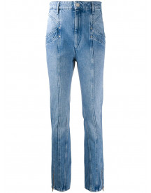 Isabel Marant Jeans Met Stiksels - Blauw afbeelding