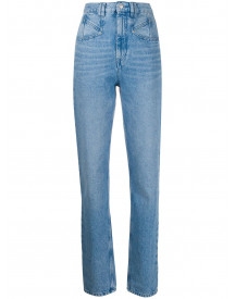 Isabel Marant Slim-fit Jeans - Blauw afbeelding