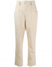 Isabel Marant Straight Jeans - Wit afbeelding