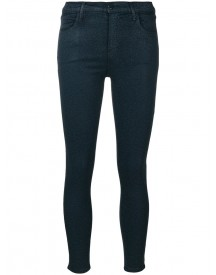 J Brand - Alana High-rise Crop Skinny Jeans - Women - Cotton/polyester/spandex/elastane - 26 afbeelding