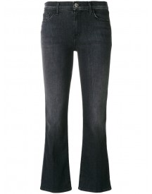 J Brand - Cropped Flared Jeans - Women - Cotton/spandex/elastane - 28 afbeelding
