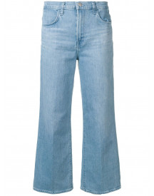 J Brand Cropped Jeans - Blauw afbeelding