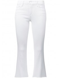 J Brand - Cropped Jeans - Women - Cotton/polyester/spandex/elastane - 30 afbeelding