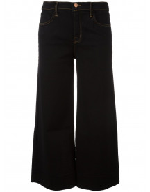 J Brand 'cropped Over' Jeans - Zwart afbeelding
