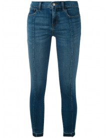 J Brand - Cropped Skinny Jeans - Women - Cotton/polyurethane - 28 afbeelding