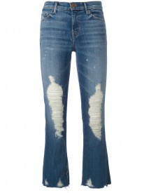 J Brand - Distressed Jeans - Women - Cotton/polyurethane - 30 afbeelding