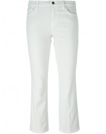 J Brand - Flared Cropped Jeans - Women - Cotton/polyester/polyurethane/modal - 28 afbeelding