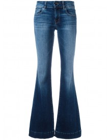 J Brand - Love Story Back Heel Destruction Jeans - Women - Cotton/polyurethane - 27 afbeelding