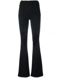 J Brand - 'maria' Flared Jeans - Women - Cotton/polyester/spandex/elastane/viscose - 28 afbeelding