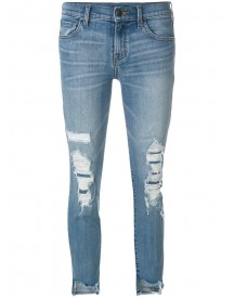 J Brand - Ripped Denim Jeans - Women - Cotton/polyurethane - 25 afbeelding