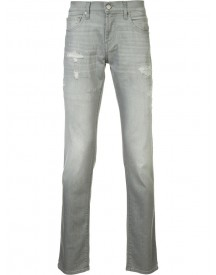 J Brand - Ripped Detail Slim-fit Jeans - Men - Cotton/spandex/elastane - 36 afbeelding
