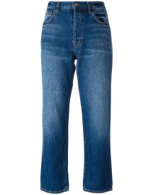 J Brand - Straight Cropped Jeans - Women - Cotton - 25 afbeelding