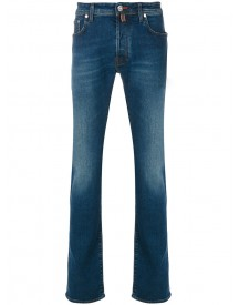 Jacob Cohen - Classic Fit Denim Jeans - Men - Cotton/polyester/spandex/elastane - 40 afbeelding