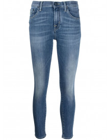 Jacob Cohen Faded Skinny Jeans - Blauw afbeelding