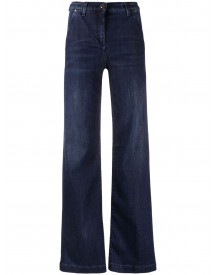 Jacob Cohen Flared High-waist Jeans - Blauw afbeelding