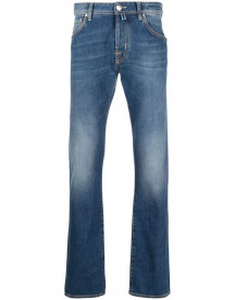 Jacob Cohen Slim-fit Faded Jeans - Blauw afbeelding