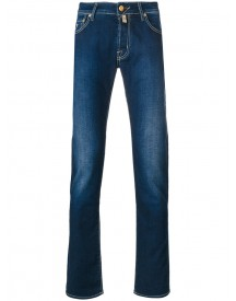 Jacob Cohen - Slim-fit Jeans - Men - Cotton/polyester/spandex/elastane - 33 afbeelding