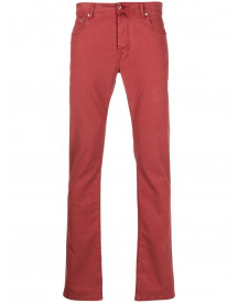 Jacob Cohen Slim-fit Jeans - Rood afbeelding